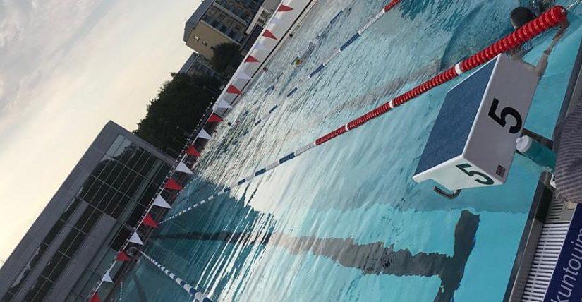 Tampereella uimassa